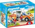 Playmobil Playmobil 6685 Ambulance avec gyrophare et sirène (avril 2016) 4008789066855
