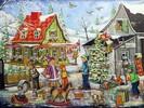 Belvédère jouet Casse-tête 1000 Genest - village à Noël 061152614286