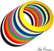 Mister Babache Anneau à jongler 32cm blanc *