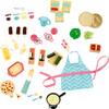 """Lori Lori Accessoires et nourriture pour poupée 6"""" 062243327016"""