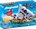 Playmobil Playmobil 70151 Chaloupe des pirates avec moteur submersible 4008789701510