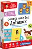 Clementoni Petit savant Compte avec les animaux (fr) 8005125523603