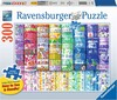 Ravensburger Casse-tête 300 Large Rubans colorés du bonheur 4005556164394