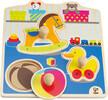 Hape Casse-tête gros boutons mes jouets en bois 6943478001718