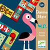 Djeco Domino Animaux 2 pièces (fr/en) 3070900081659