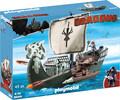 Playmobil Playmobil 9244 Dragons Drago et vaisseau d'attaque 4008789092441