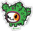 tokidoki autocollant Cactus dog 818310029198