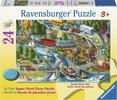 Ravensburger Casse-tête plancher 24 L'effervescence des vacances 4005556055609