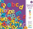 Djeco Lettres magnétiques scriptes, 83 (fr/en) 3070900031029