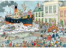 Jumbo Casse-tête 1500 Jan van Haasteren - L'arrivée au port de Saint Nicolas 8710126190555