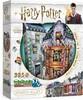 Wrebbit Casse-tête 3D Harry Potter Weasley Farces pour sorciers facétieux et La Gazette du sorcier (285pcs) 665541005114