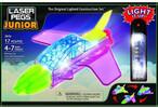 Laser Pegs - briques illuminées Laser Pegs junior avion 3 en 1 (briques illuminées) 810690021694