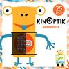 Djeco Kinoptik animonstre, mouvement optique, 26pcs (fr/en) 3070900056008